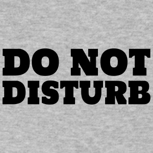 Do Not Disturb - Men's V-Neck T-Shirt by Canvas