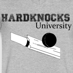 Hardknocks - PREMIUM - Men's V-Neck T-Shirt by Canvas