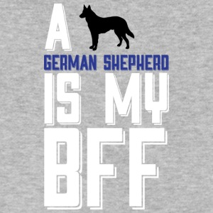 A German Shepherd Is My Bff T Shirt - Men's V-Neck T-Shirt by Canvas