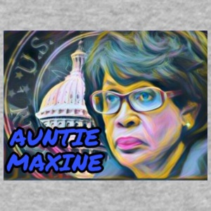 Auntie Maxine - Men's V-Neck T-Shirt by Canvas