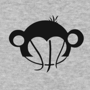 Monkey Basketball - Men's V-Neck T-Shirt by Canvas