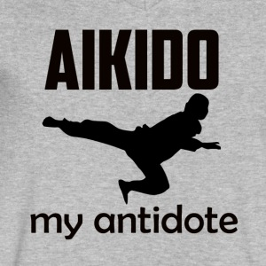 AIKIDO DESIGN - Men's V-Neck T-Shirt by Canvas