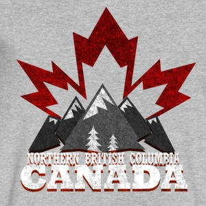 Northern British Columbia Canada - Men's V-Neck T-Shirt by Canvas