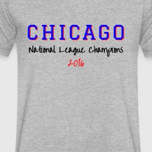CHICAGO NATIONAL LEAGUE - Men's V-Neck T-Shirt by Canvas