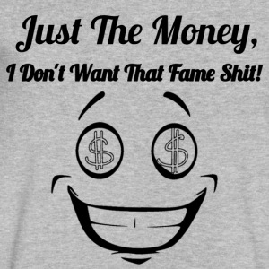JUST THE MONEY - Men's V-Neck T-Shirt by Canvas