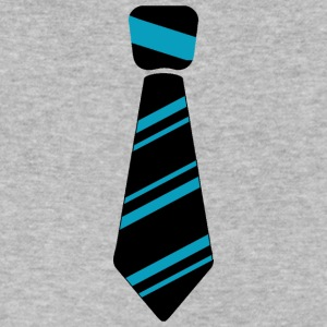 Neck tie blue - Men's V-Neck T-Shirt by Canvas
