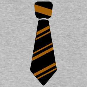 Neck Tie brown - Men's V-Neck T-Shirt by Canvas