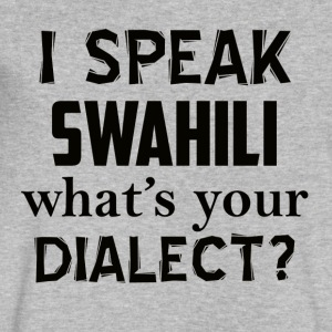swahili dialect - Men's V-Neck T-Shirt by Canvas