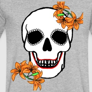 DayoftheDead - Men's V-Neck T-Shirt by Canvas