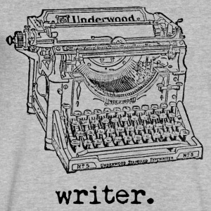 Writer Underwood - Men's V-Neck T-Shirt by Canvas