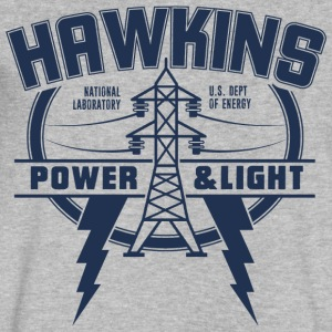 Hawkins Power and Light - Men's V-Neck T-Shirt by Canvas
