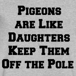 Pigeon Daughters - Men's V-Neck T-Shirt by Canvas