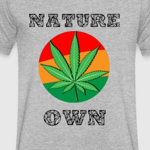 Nature Own - Men's V-Neck T-Shirt by Canvas