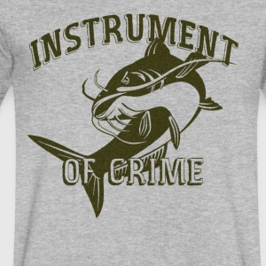 instrument of crime - Men's V-Neck T-Shirt by Canvas