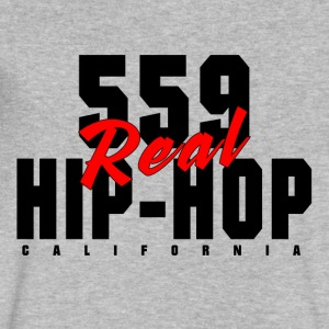 559_REAL_HIP_HOP_ - Men's V-Neck T-Shirt by Canvas
