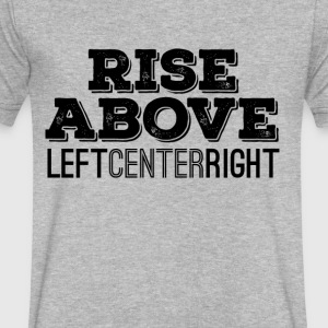 Rise Above - Men's V-Neck T-Shirt by Canvas