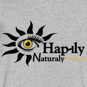 Hap-iLy NaturaLy - Men's V-Neck T-Shirt by Canvas