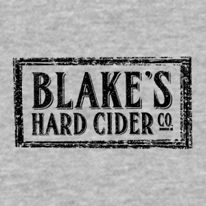 Blakes Hard Cider Co Logo - Men's V-Neck T-Shirt by Canvas