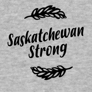 Saskatchewan Strong - Men's V-Neck T-Shirt by Canvas