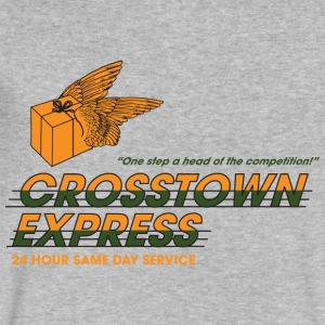Crosstown Express - Seven - Men's V-Neck T-Shirt by Canvas
