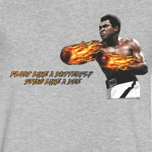 Muhammad Ali - Men's V-Neck T-Shirt by Canvas