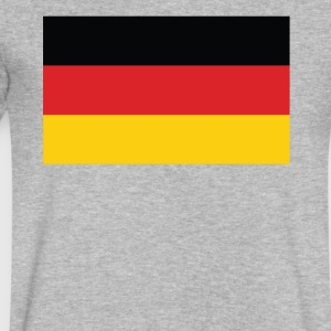 Flag of Germany Cool German Flag - Men's V-Neck T-Shirt by Canvas