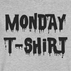 Monday - Men's V-Neck T-Shirt by Canvas