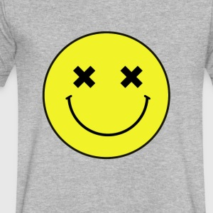 simile - Men's V-Neck T-Shirt by Canvas