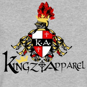 Kingz Apparel T-shirt - Men's V-Neck T-Shirt by Canvas