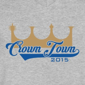 CrownTown 2015 - Men's V-Neck T-Shirt by Canvas