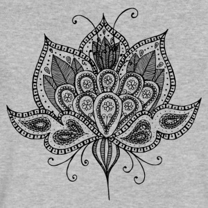Lotus flower - Men's V-Neck T-Shirt by Canvas