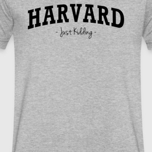 Harvard Kidding - Men's V-Neck T-Shirt by Canvas