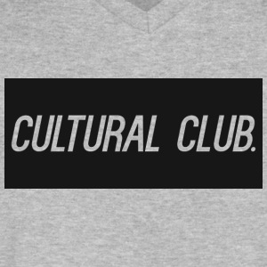 Cultural Club - Men's V-Neck T-Shirt by Canvas