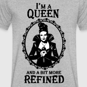 Regina Mills. Evil Queen OUAT. Lana Parrilla. - Men's V-Neck T-Shirt by Canvas