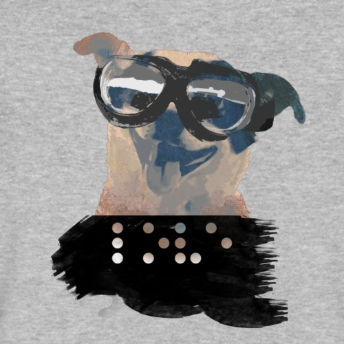 Happy Doggy - Men's V-Neck T-Shirt by Canvas