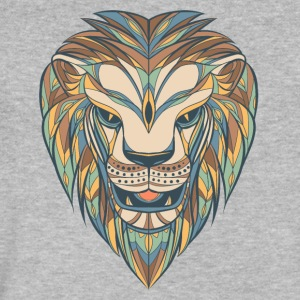 lion - Men's V-Neck T-Shirt by Canvas