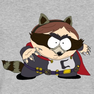 The Coon - South Park - Men's V-Neck T-Shirt by Canvas