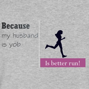 Is Better Run! - Men's V-Neck T-Shirt by Canvas