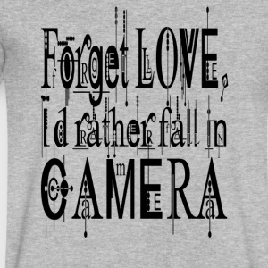 Forget love - Men's V-Neck T-Shirt by Canvas