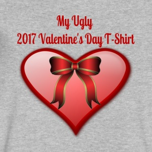 My Ugly Valentine's Day T-Shirt - Men's V-Neck T-Shirt by Canvas
