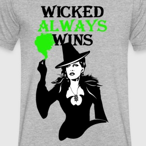 OUAT. Wicked Always Wins - Men's V-Neck T-Shirt by Canvas
