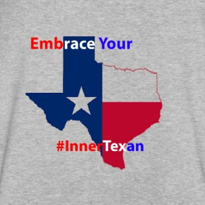 Inner Texan - Men's V-Neck T-Shirt by Canvas