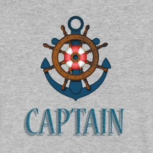 Nautical Captain - Men's V-Neck T-Shirt by Canvas