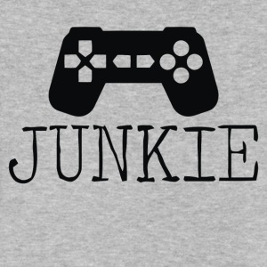 Junkie Gamer - Men's V-Neck T-Shirt by Canvas