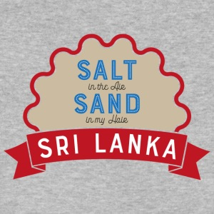 salt sand srilanka - Men's V-Neck T-Shirt by Canvas