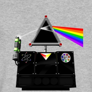 This Island Earth Interocitor Dark Side Prism - Men's V-Neck T-Shirt by Canvas