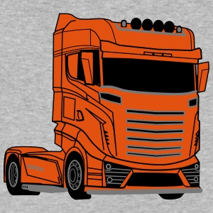Super V8 Truck - Men's V-Neck T-Shirt by Canvas