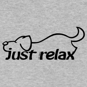 Just relax - Men's V-Neck T-Shirt by Canvas