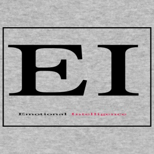 Emotional Intelligence! - Men's V-Neck T-Shirt by Canvas