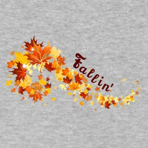 Fallin' - Men's V-Neck T-Shirt by Canvas